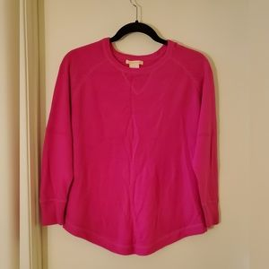 Sweet Romeo Hot Pink Half Sleeve Sweater Size M
